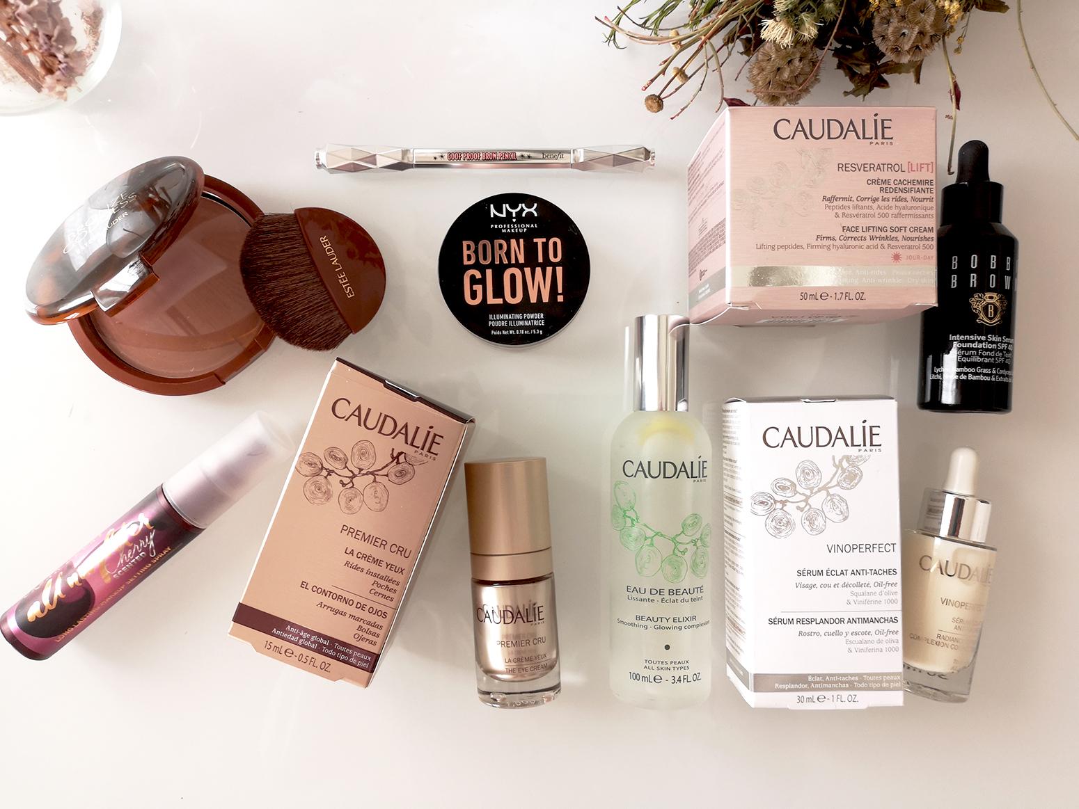 new beauty esentials caudalie bobbie brown skin care make up summer 20192