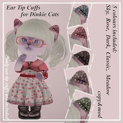 Dinkie Ear-Tip Cuffs