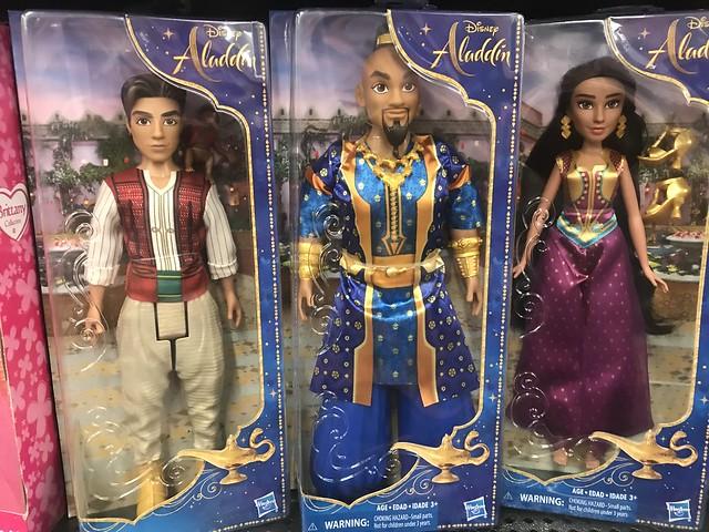 Alladin Hasbro Dolls