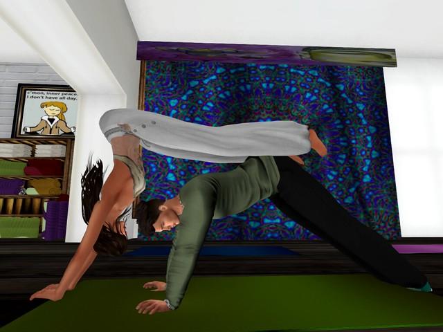 Home, Sweet, Home - Moon's Yoga Studio -Peek-A-Boo