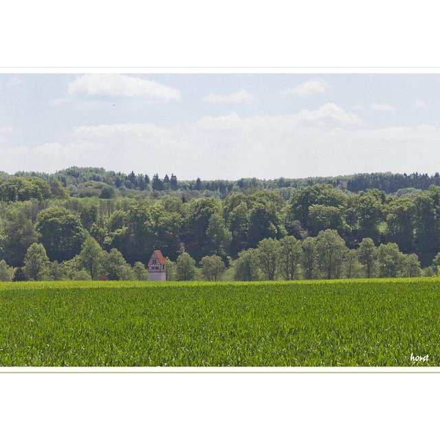 Zaininger Kirchturm