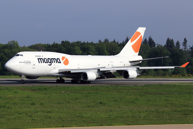 Magma Aviation (Air Atlanta Icelandic)  Boeing 747-400(BCF) TF-AMR