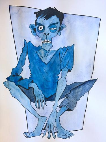 20 - Blue Zombie
