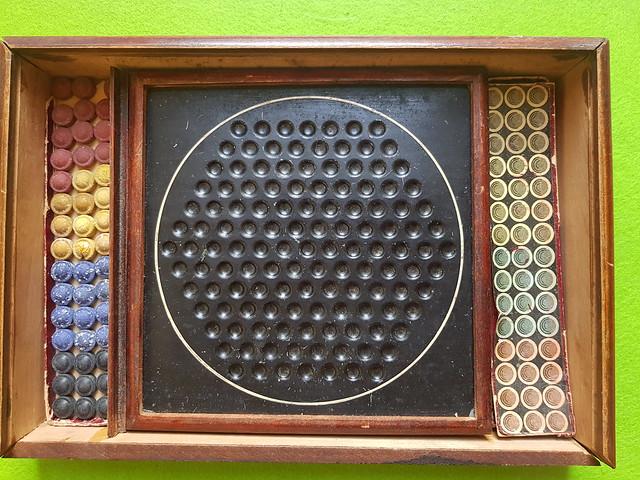 F. Ad. Richter - Anker Baukasten Saturn No. 2 - Spielsteine und Spielbrett