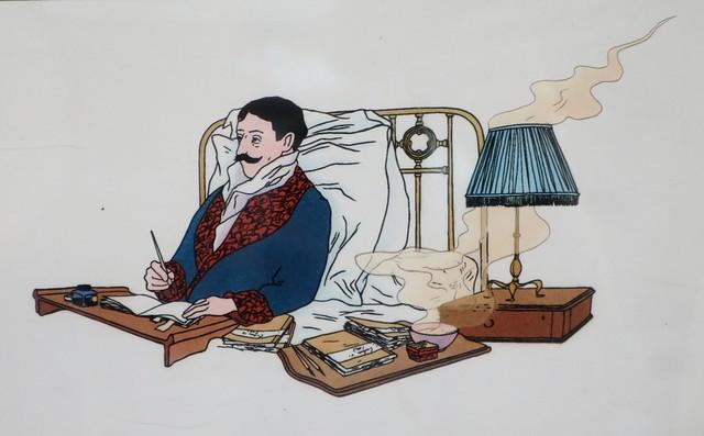 illustration de Stéphane Heuet pour