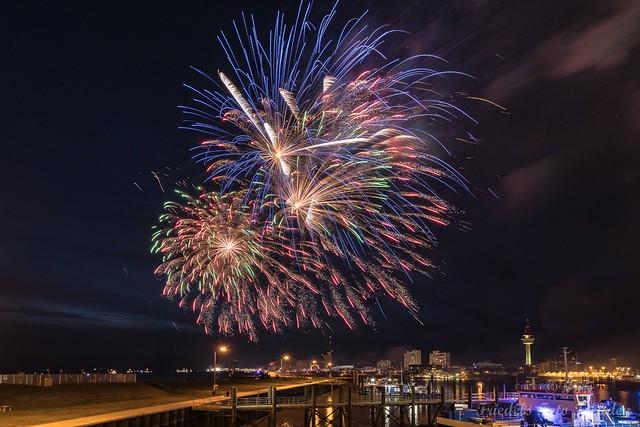 Feuerwerk Seestadtfest Bremerhaven