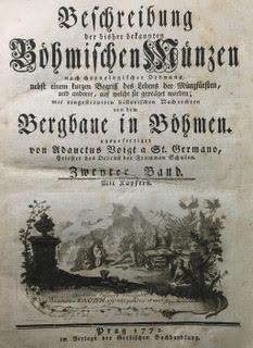 Beschreibung der bisher bekannten title page