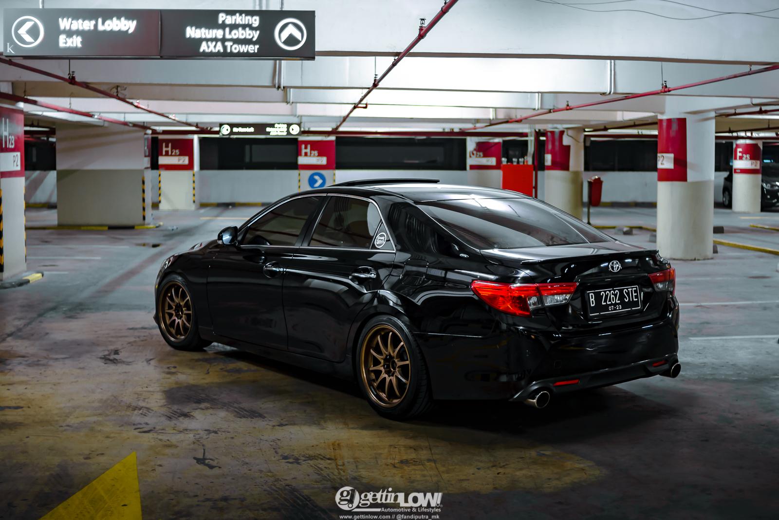 Rafiandra Lubis Toyota Mark X