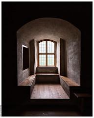 A Recessed Window at Turku Castle.