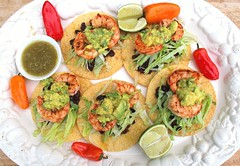 C:\Users\HADIS\Desktop\Tostadas With Shrimp, Black Bean Salsa & Avocado