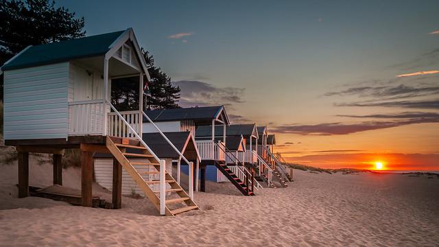 Wells -Next-The -Sea Sunset