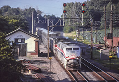 Amtrak 18 West, Buda, IL.