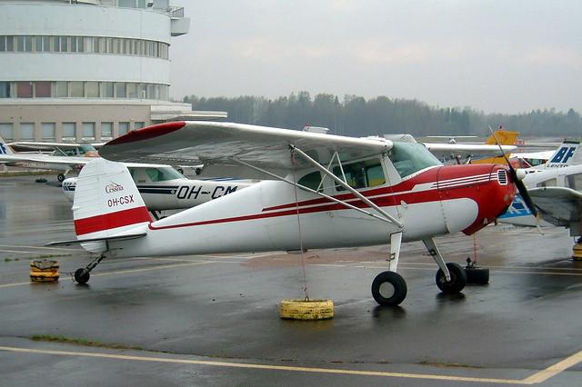 OH-CSX  Cessna 140 [8899] Helsinki-Malmi~OH 14/05/2003