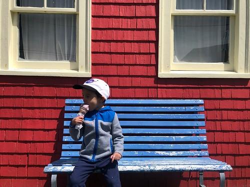 Dee Dee's Ice Cream, Peggy's Cove, Nova Scotia