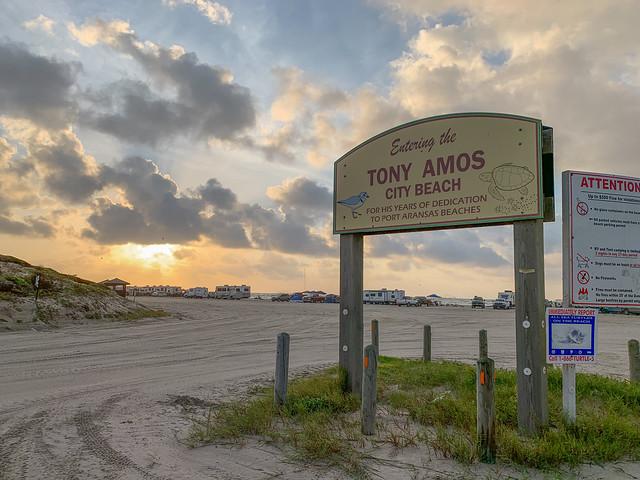 Tony Amos Beach