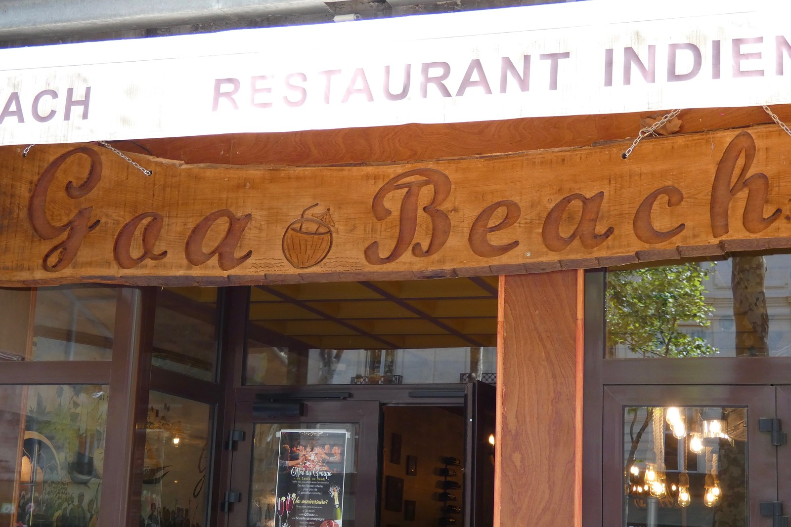 Restaurant Goa Beach, Paris