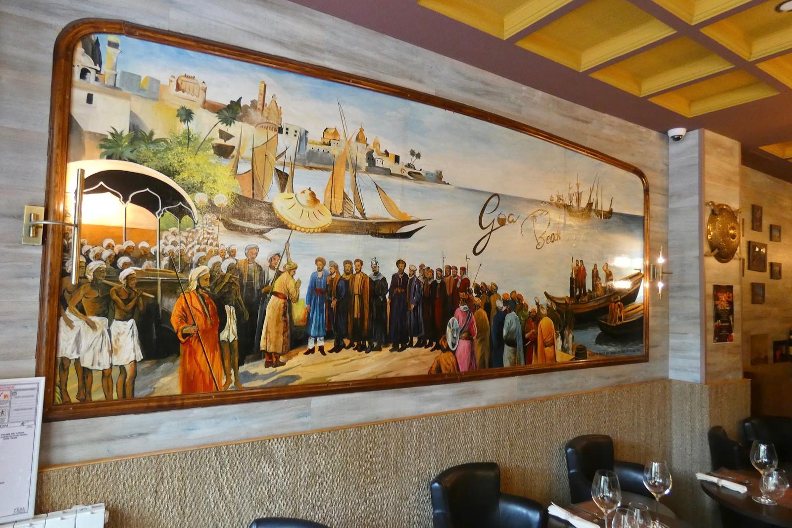 Restaurant Goa Beach, Paris