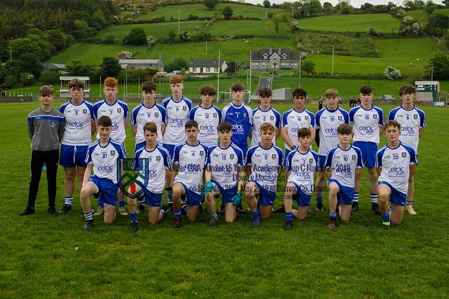 Under 15 Football - Monaghan v Down at Burren.