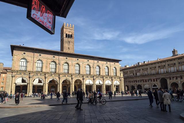 Bologna (Italy) - Piazza Maggiore
