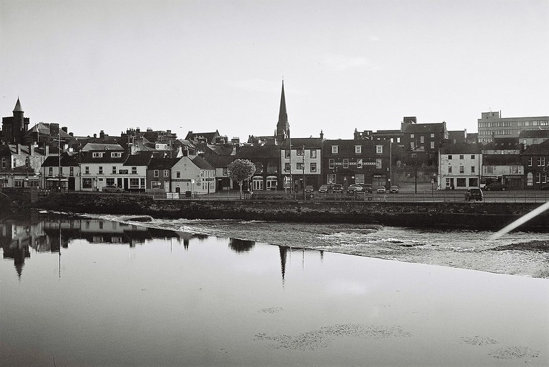 Town reflected