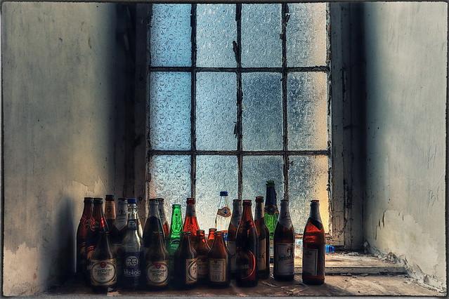 Flaschen leer - ich habe fertig! :-)