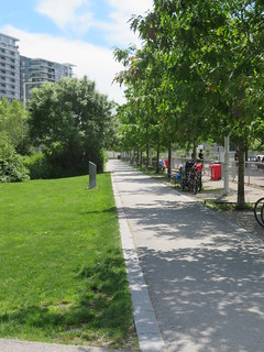 Path from Olympic Village to Sea Wall   by Stephen Rees