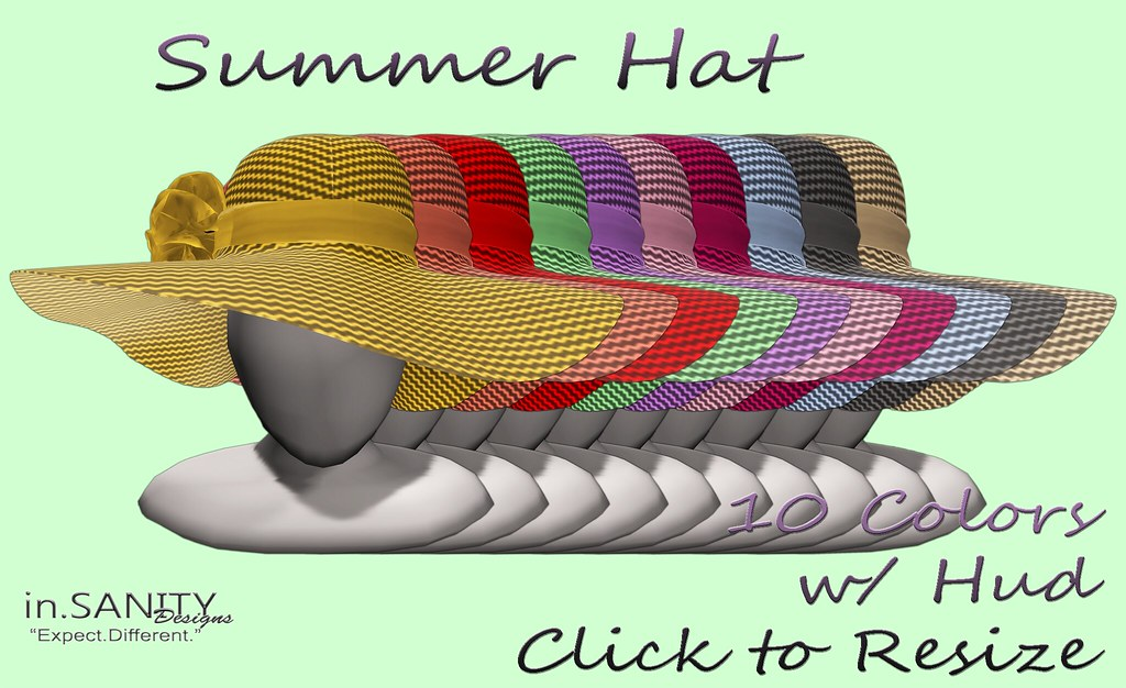 Summer Hat *in.SANITY* - TeleportHub.com Live!