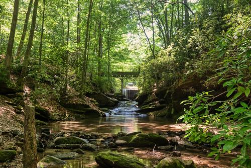 toccoa georgia unitedstatesofamerica hendersonfallspark hendersonfalls toccoafalls usa northgeorgia park waterfall water creek