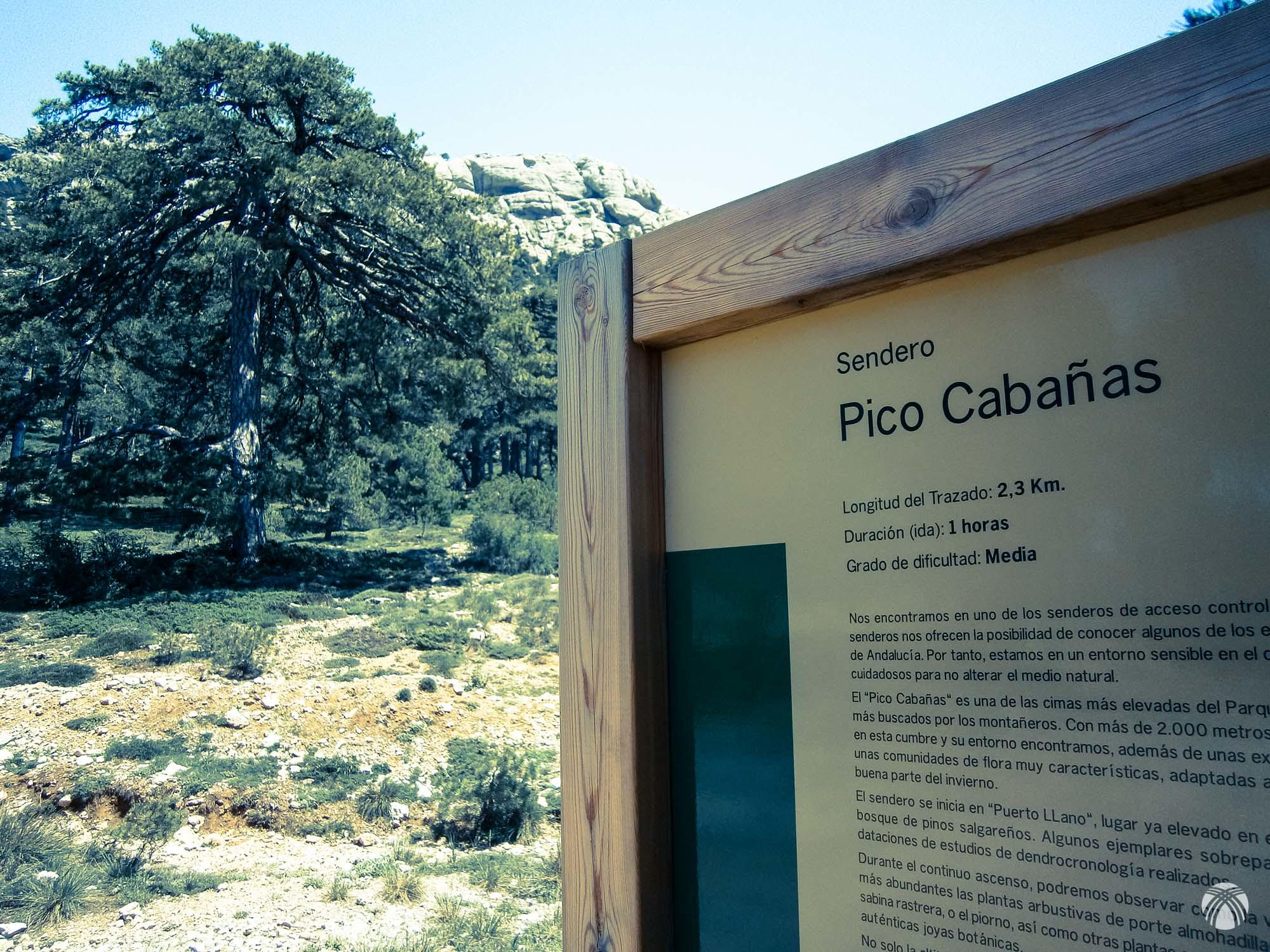 Muy cerca está Cabañas: la cima de la sierra del Pozo