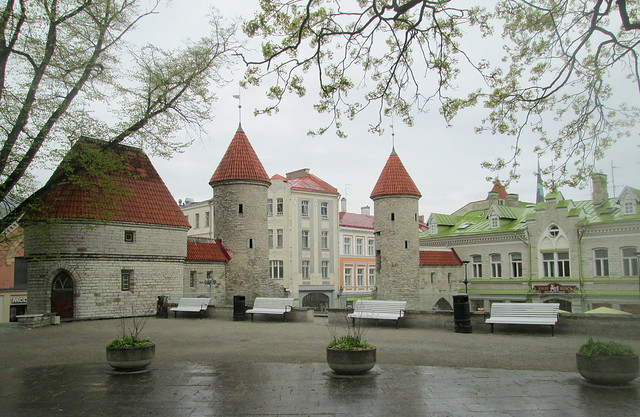 wall + towers , Tallinn, Estonia