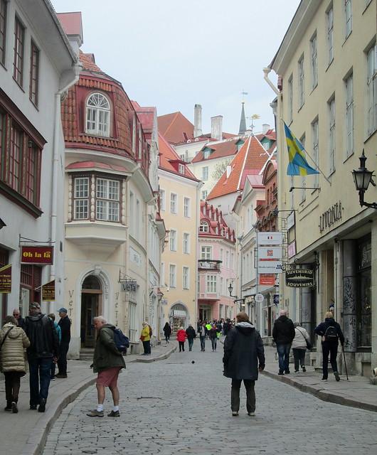 Tallinn, street, Estonia