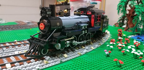 10-wide 4-6-0 C&O 377 | by BrickTracks
