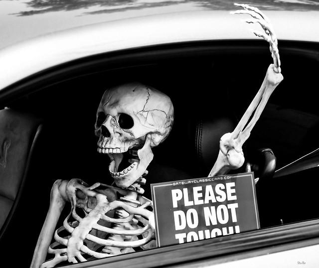 no bones about it...