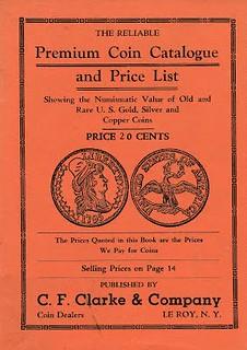 C. F. Clarke 1914 Premium catalog