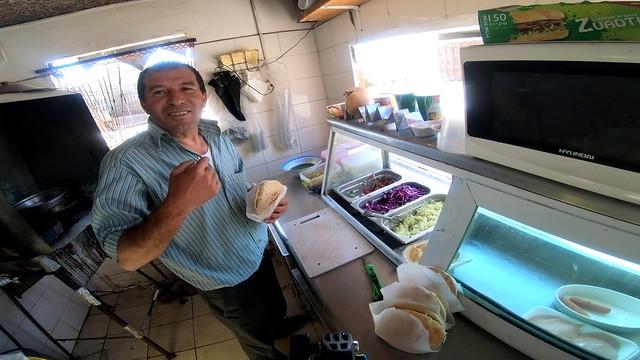 Day 5j -  a falafel shop