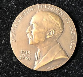 Crain Valentine Medal - Obverse