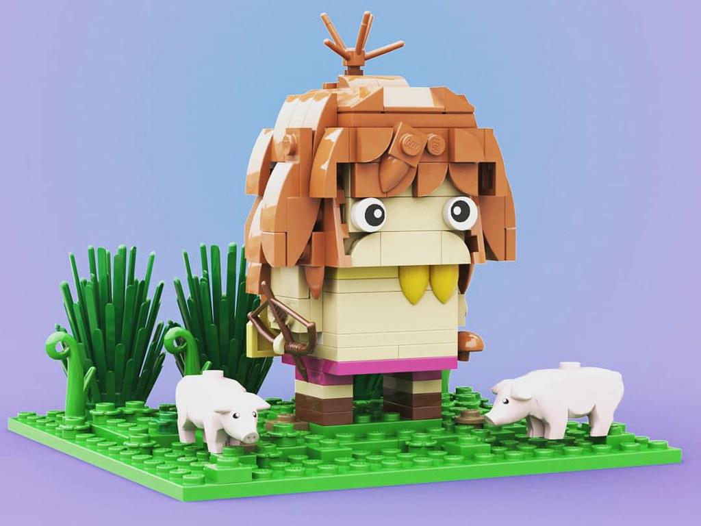 #ジムシー #未来少年コナン #ハイハーバー #高立的未来世界 #宮崎駿 #MiyazakiHayao #brickheadz #出賣年齡系列 #レゴ #lego #legomocs #legomoc #legos #legobricks #bricks #legophoto #legoart #moc #legocreation #legostagram #legophotography #legography #legogram #instalego