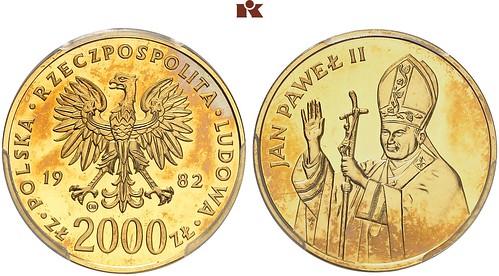 Poland 1982 2.000 Zlotych