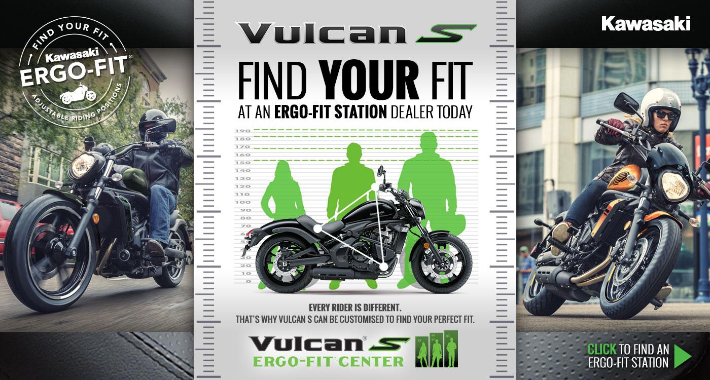 Vulcan S Ergo-Fit Dealerships