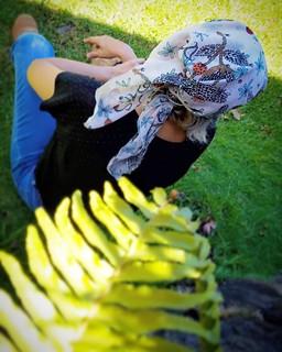 Aloha Days scarf
