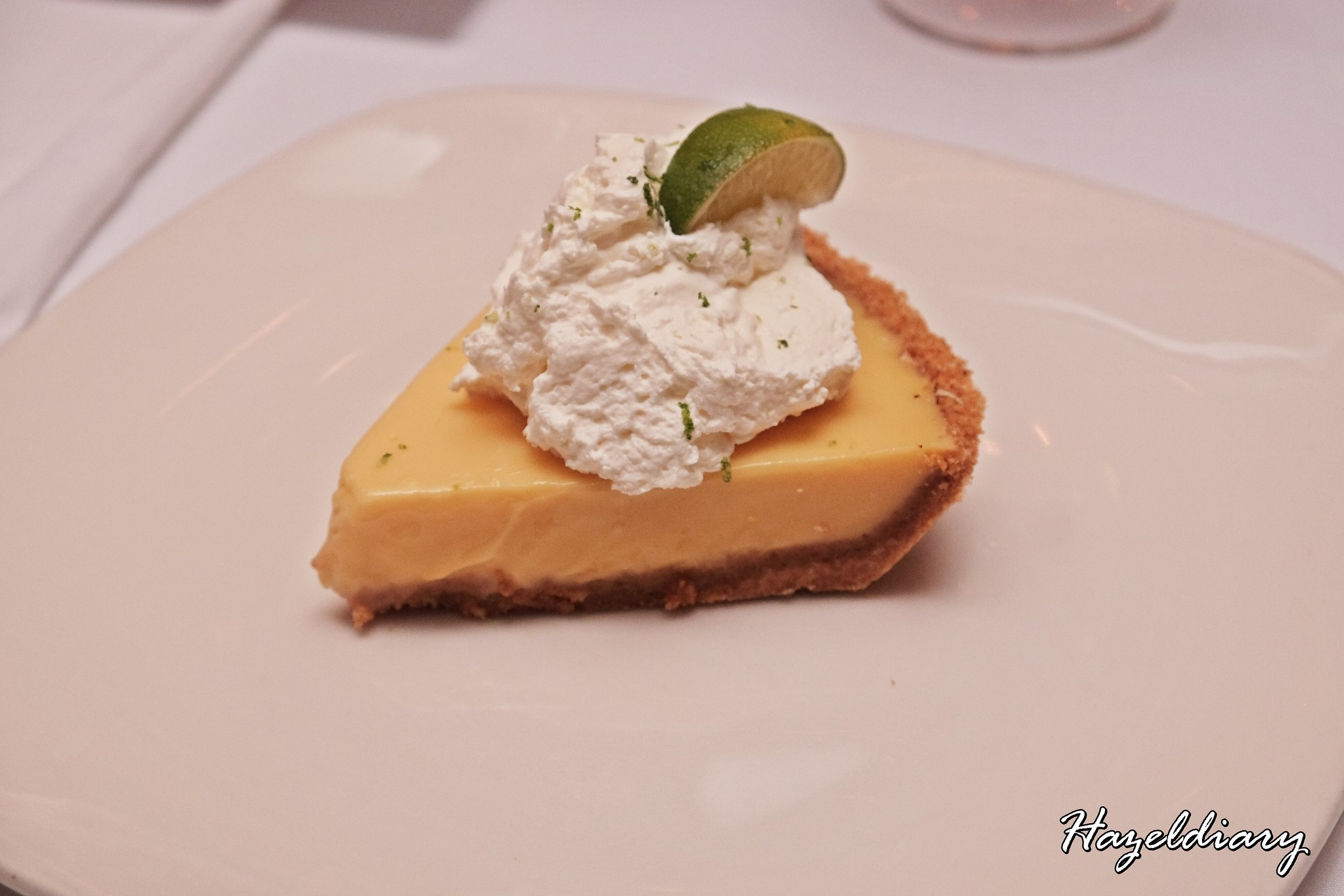 Morton's Steakhouse Mandarin Oriental-Pie