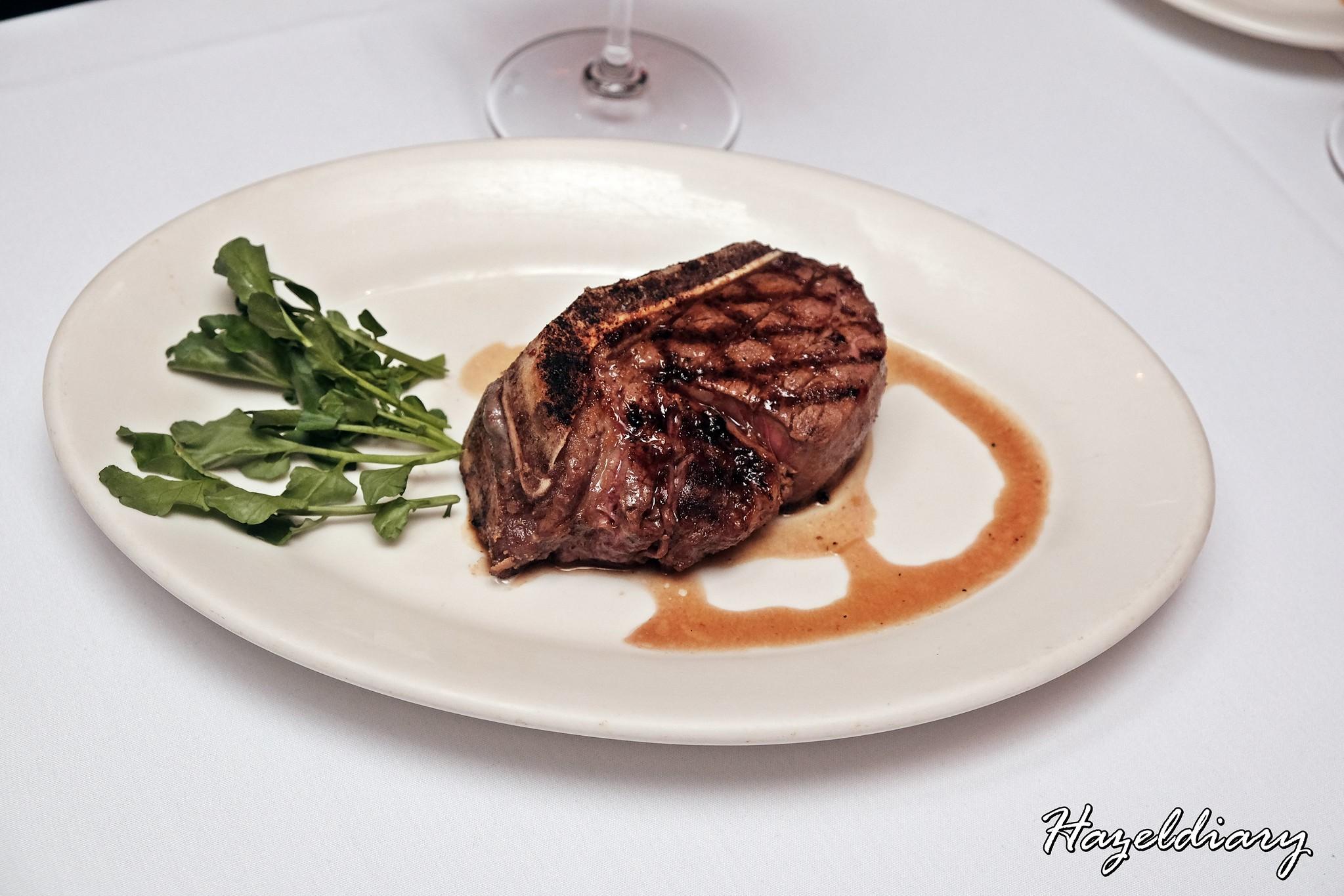 Morton's Steakhouse Mandarin Oriental-Bone-in Filet Mignon
