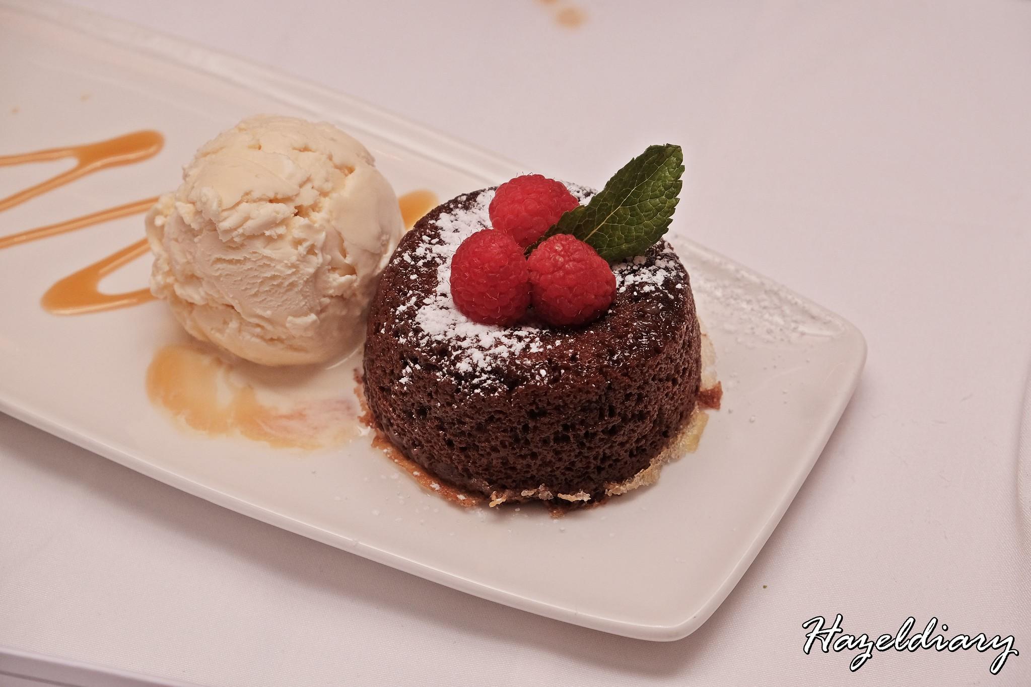Morton's Steakhouse Mandarin Oriental-Chocolate Lava