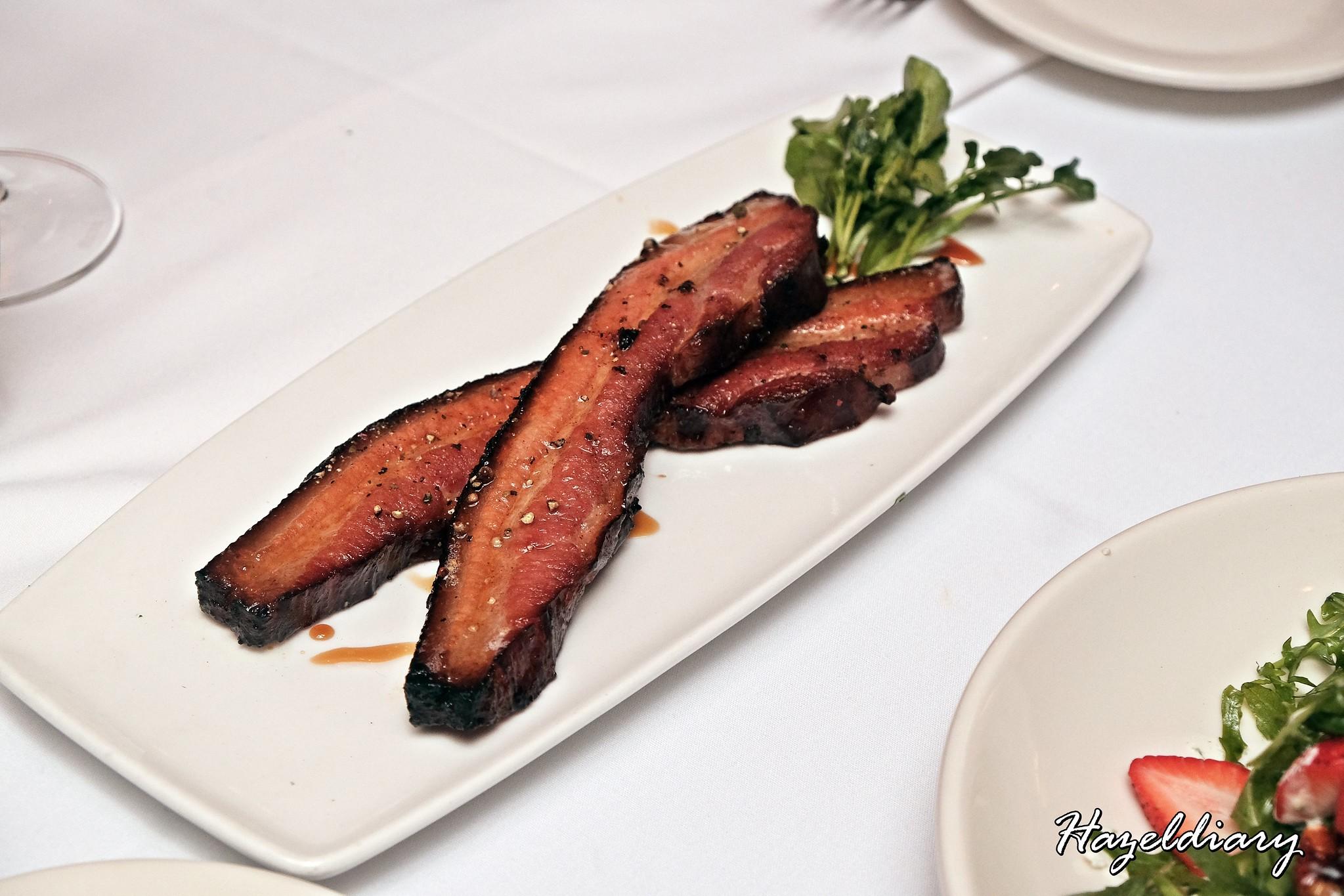 Morton's Steakhouse Mandarin Oriental-Bacon Steak