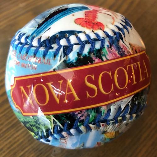 Nova Scotia souvenir baseball