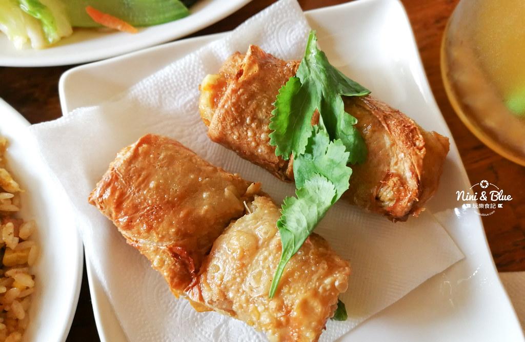 台中北區素食 若水茶軒 素食茶館12
