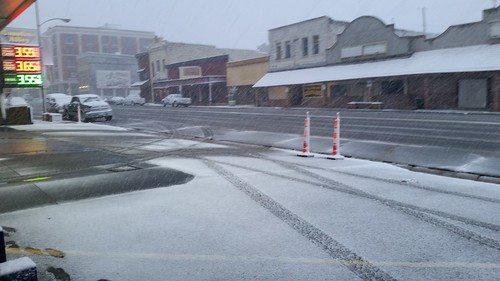 Memorial Day Snow in Tonopah