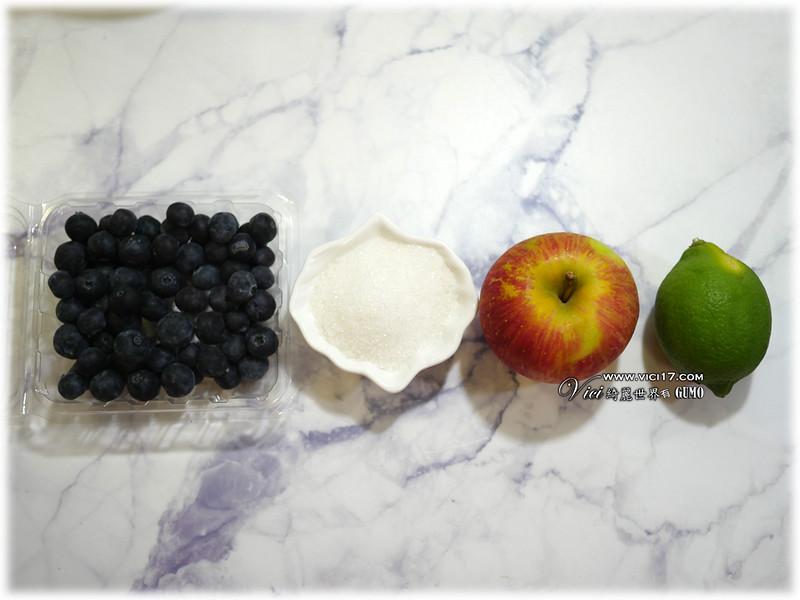 藍蘋果醬001