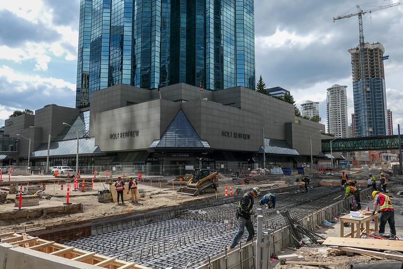 Valley Line LRT Construction