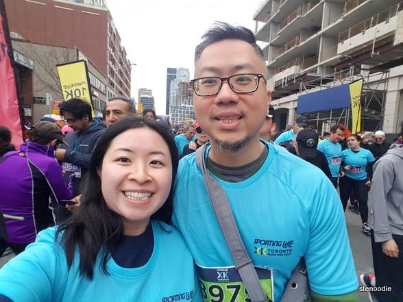 Sporting Life 10K Toronto selfie